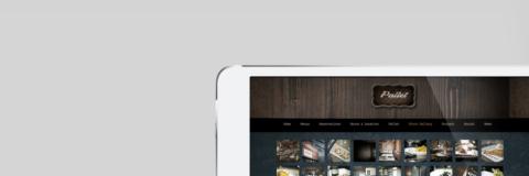 pallet bistro web design imac4