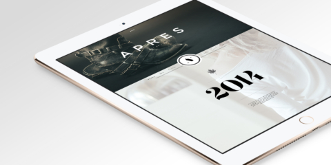 apres vous homepage ipad1